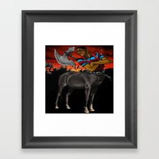 Lord of the Pocket Protectors  Framed Art Print