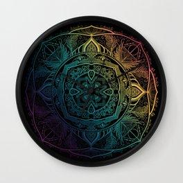 Sirius mandala Wall Clock