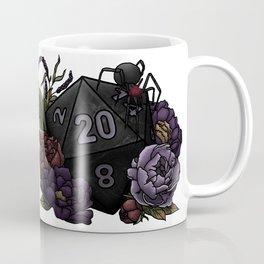 Drow D20 - Tabletop Gaming Dice Coffee Mug