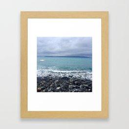 Maui Blues Framed Art Print