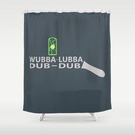 Rick's Portal Gun Shower Curtain