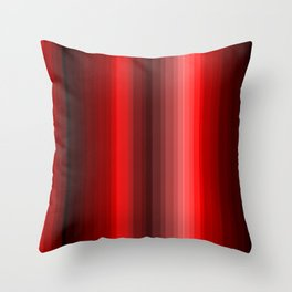 Red COlors Throw Pillow