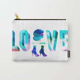 Head Over Heels In Love Carry-All Pouch
