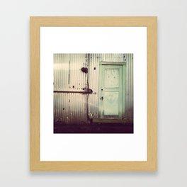 The Secret Door Framed Art Print