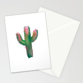cactus one Stationery Cards