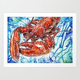 Ocean Life (1) Art Print