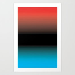 Warm and Cool Art Print