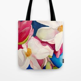 dogwood flowers Tote Bag