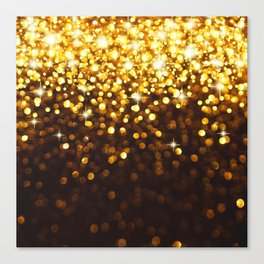 gold spot Canvas Print