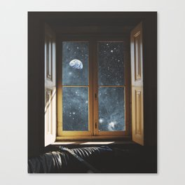WINDOW TO THE UNIVERSE Canvas Print