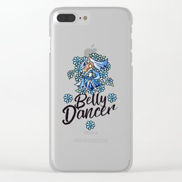 Belly Dancer Clear iPhone Case