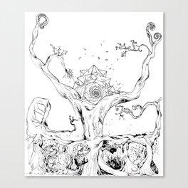 BANYAN Canvas Print