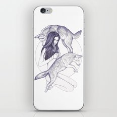 Wolf Moon iPhone & iPod Skin