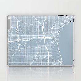 Milwaukee Map, USA - Slate Laptop & iPad Skin