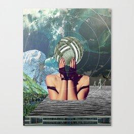 atmosphere 45 · in a gadda da vida Canvas Print