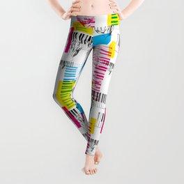 A piano pattern Leggings
