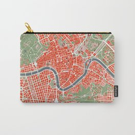 Rome city map classic Carry-All Pouch