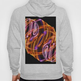 Abstract glow Hoody