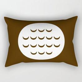 """Chocolate Hobnob"" Biscuit poster Rectangular Pillow"