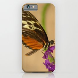 Tiger Longwing Butterfly-7 iPhone Case