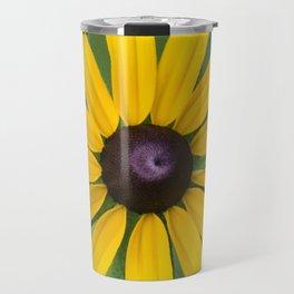 Rudbeckia Flower Travel Mug