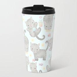 Kitten Cuteness Overload Travel Mug