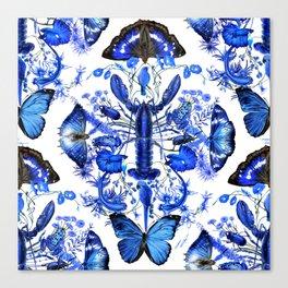 Ultramarine (pattern) Canvas Print