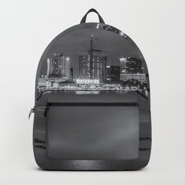 Norfolk Skyline II in Black and White Backpack