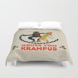 Gruss vom Krampus II Duvet Cover