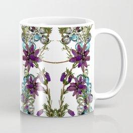 Heather and Multicoloured crystals. Coffee Mug