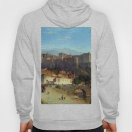 Samuel Colman The Hill of the Alhambra Hoody