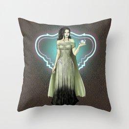 Goblin Queen Throw Pillow