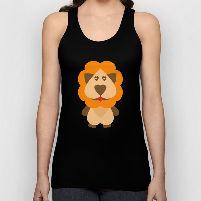 Lion Heart Unisex Tank Top