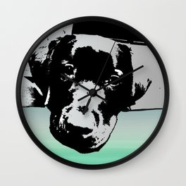 The Art Of Persuasion The Power Of The Puppy Wall Clock