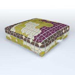 desert modernism 2.0 Outdoor Floor Cushion