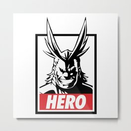 All Might - My Hero Academia Metal Print