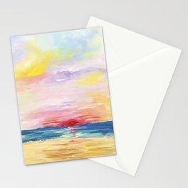 Ocean City Sunrise Stationery Cards