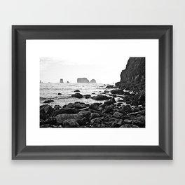 La Push Beach #2 - La Push, WA (6) Framed Art Print