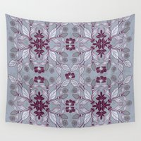 hibiscus Wall Tapestries featuring Hibiscus by Azulblau