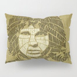 The lizard king calligram Pillow Sham