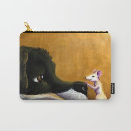 Dog and Mouse Carry-All Pouch