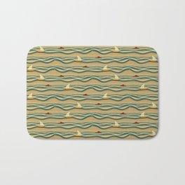 Sailing pattern 1d Bath Mat