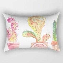 WatercolorCactus Rectangular Pillow