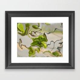 Amazonite - Abstract Framed Art Print