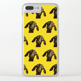 Pop Goat Clear iPhone Case