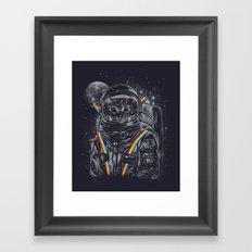 Space Mission Framed Art Print