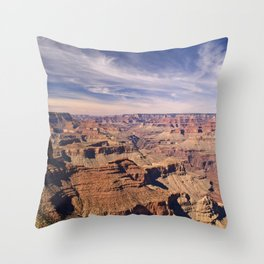 Grand Canyon from Desert View Point Throw Pillow