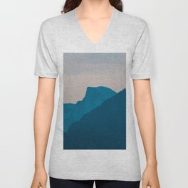 Tunnel View - Yosemite National Park Unisex V-Neck