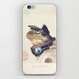 Star Team - Slippy iPhone Skin