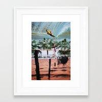 blur Framed Art Prints featuring Blur by John Turck